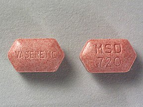 Vaseretic 10-25 mg Tablets 1X100 Unit Dose Package Mfg. By Bta Pharmaceuticals