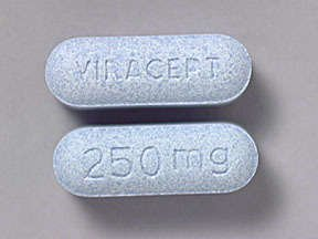 Viracept 250 Mg Tabs 300 By Viiv Healthcare.