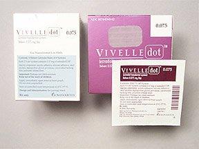 Vivelle-Dot 0.075 Mg Patches 3X8 By Novartis Pharma