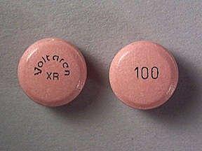 Voltaren-XR 100 mg Tablets 1X100 Mfg. By Novartis Pharmaceuticals