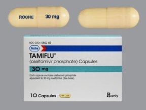 Tamiflu B/Pk 30 Mg 10 Gcp By Roche Labs.