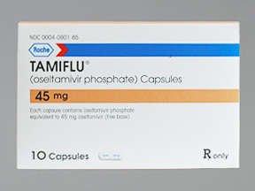 Tamiflu B/Pk 45 Mg 10 Gcp By Roche Labs.