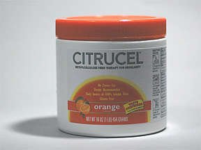 Citrucel Laxative Orange Powder 16 Oz