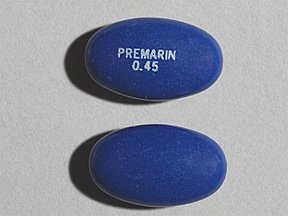 Image 0 of Premarin 0.45 Mg Tabs 100 By Pfizer Pharma