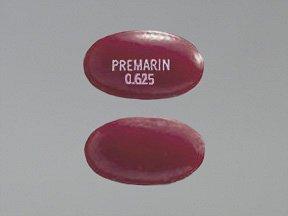 Image 0 of Premarin 0.625 Mg Tabs 100 By Pfizer Pharma