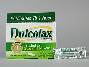 Dulcolax 10 Mg Suppositories 4 Ct