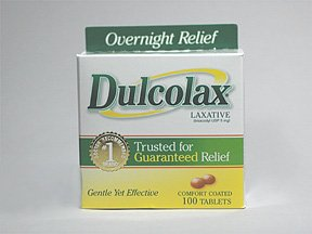 Image 0 of Dulcolax 5 Mg 100 Enteric Coated Tablets 100 Ct.