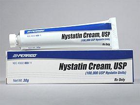 Prescription Drugs-N - Nystatin - Nystatin 100Mu/ Gm Cream