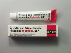 triamcinolone and nystatin ointment