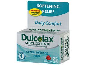 Image 0 of Dulcolax Stool Softner Liquid Gel 25