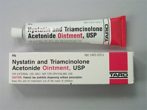 nystatin cream and triamcinolone