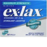 Ex-Lax Maximum Relief Tab 48 Ct.