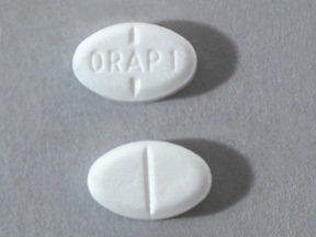 Image 0 of Orap 1 Mg Tabs 100 By Teva Pharma
