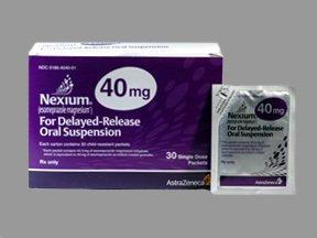 Nexium 20 Mg Sus 30 By Astrazeneca Pharma