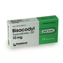 how to use bisacodyl suppository