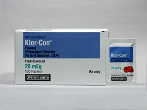 what is the drug klor-con m20 used for