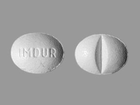 Imdur 30mg Tablets 1X100 each Mfg.by: Schering Corporation USA.