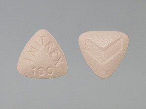 Imitrex 100 Mg Tabs 9 By Glaxo Smithkline.