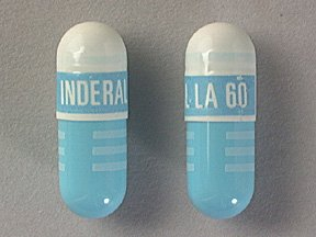 Inderal LA 60 Mg Caps 100 By Akrimax Pharma