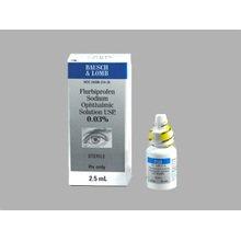 Flurbiprofen Sodium 0.03% Drops 2.5 Ml By Valeant Pharma