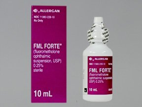 Fml Forte 0.25% Drops 10 Ml By Allergan Inc.