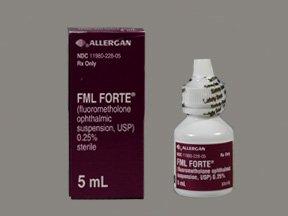 Fml Forte 0.25% Drops 5 Ml By Allergan Inc.