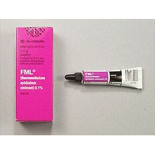 Fml S.O.P. 0.1% Ointment 3.5 Gm By Allergan Inc.