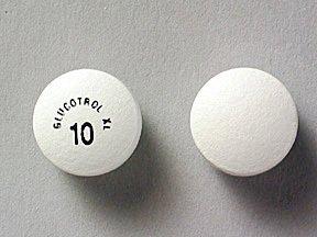 Glucotrol Xl 10mg Tablets 1X500 each Mfg.by: Pfizer USA.