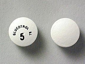 Glucotrol Xl 5mg Tablets 1X500 each Mfg.by: Pfizer USA.