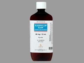 Elixophyllin 80 Mg Solution 473 Ml By Caraco Pharma