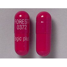 Esgic Plus 500-50-40mg Caps 1X100 each Mfg.by: Midlothian Pharma