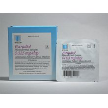 Image 0 of Estradiol Transdermal System 0.025mg/24hr Patches 4 By Mylan Pharma
