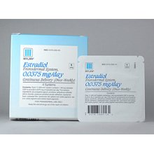 Image 0 of Estradiol Transdermal System 0.0375mg/24hr Patches 4 By Mylan Pharma