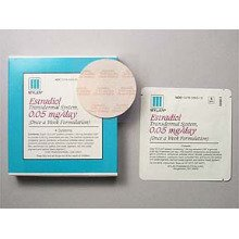 Image 0 of Estradiol Transdermal System 0.05mg/24hr Patches 4 By Mylan Pharma