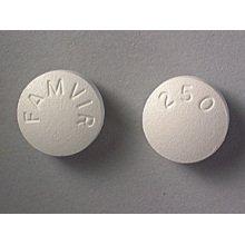 Famvir 250 Mg Tabs 30 By Novartis Pharma.