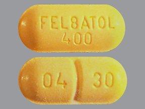 Felbatol 400mg Tabs 100 By Meda Pharma.