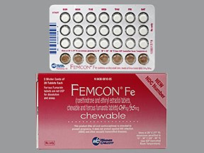 Femcon Fe Tabs 5x28 By Actavis Pharma