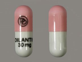 Dilantin 30 Mg Caps 100 By Pfizer Pharma