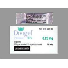 Divigel 0.1% Packets 1X30 each Mfg.by:Vertical Pharma