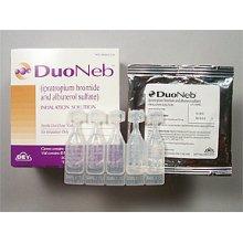 Duoneb 2.5-0.5mg/3ml Ampolues 30X3 ml Mfg.by: Dey L P - Branded USA. Unit Dose P