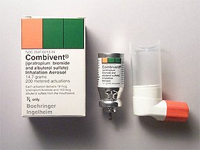 Combivent 103 18mcg Inhaler 1X14.7 gm Mfg.by Boehringer Ingelheim USA Free Ship