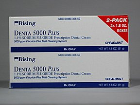 Denta 5000 Plus 1.1% Cream 2X34 Gm By Rising Pharma.