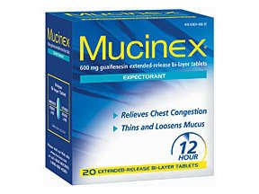 Image 0 of Mucinex Expectorant Tablets 20 Ct