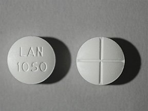 Acetazolamide 250 Mg Tablets 100 By Lannett Co.