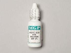 Acetic Acid 2% Otic Drop 15 Ml By MGP-Wockhardt.