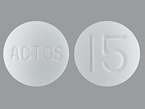 Actos 15 Mg Tabs 30 By Takeda Pharma.