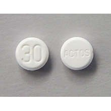Actos 30 Mg Tabs 30 By Takeda Pharma.