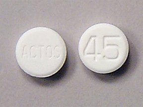 Actos 45 Mg Tabs 30 By Takeda Pharma.