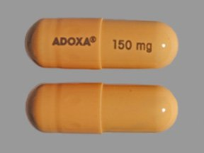 Adoxa 150mg Caps 60 By Pharmaderm Pharma.