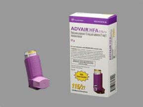 Advair HFA 115-21 Mcg Arin 12 Gm By Glaxo Smith Kline